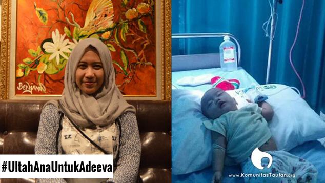 Ulang Tahun Ana untuk Adeeva
