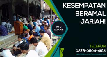 Masjid Kami Tidak Cukup Luas Untuk Menampung
