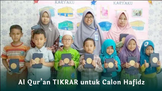 5.000 Hadiah al Qur'an TIKRAR untuk Calon Hafidz