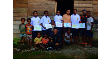 Project O x Book for Papua: for Children in Wamena