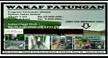 Galang Dana Wakaf Umat