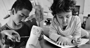Patungan Rumah Pendidikan Disabilitas Ganda YSIB