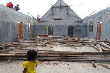 Donasi Untuk Gereja Bukit Sion Boko di Raijua