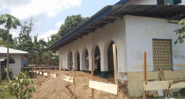 Bantu Renovasi Masjid Nurtaqwa Desa Penimbung