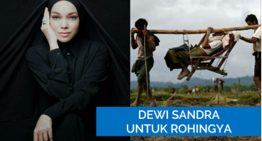 Dewi Sandra Untuk Rohingya