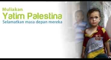 Berbagi Masa Depan untuk Yatim Palestina