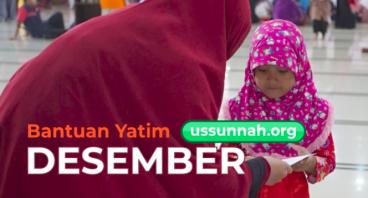 Bantuan Anak Yatim bersama Yayasan us-Sunnah