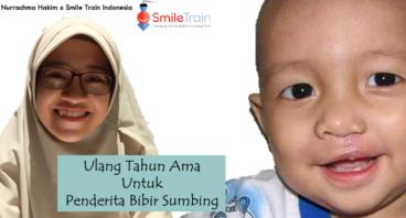 Ulang Tahun Ama untuk Penderita Bibir Sumbing