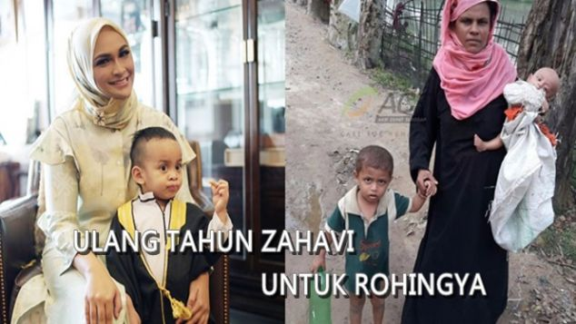 Ulang Tahun Zahavi untuk Rohingya