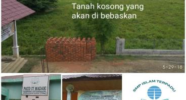 Wakaf Tunai untuk pembebasan Lahan SMPIT dan SMAIT
