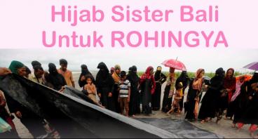 Hijab Sister Bali untuk Rohingya