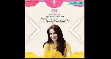 Maudy Koesnaedi untuk #BeraniSekolah