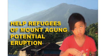 MOUNT AGUNG REFUGEES APPEAL