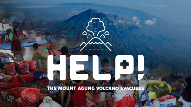Gunung Agung eruption threat - help the evacuees