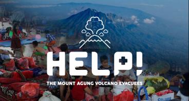Gunung Agung eruption threat - help the evacuees