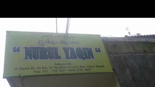Pembebasan Lahan utk perluasan Masjid Nurul Yaqin