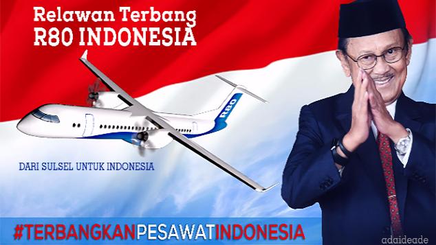 Relawan Terbang R80 Indonesia