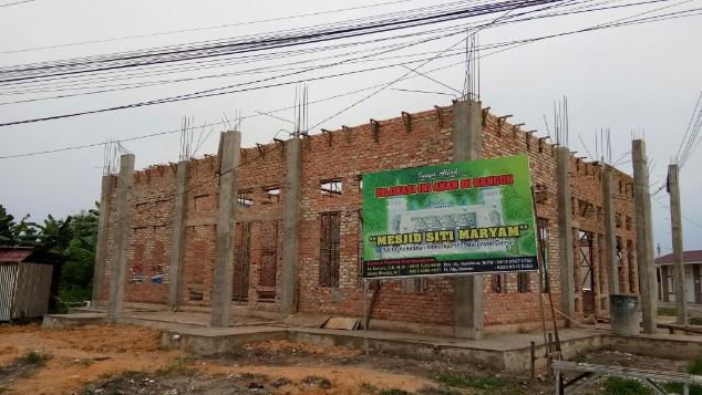 Pembangunan Masjid Maryam