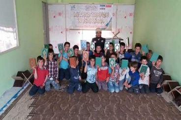 Bantu Mahad Tahfidz Nusantara di Suriah