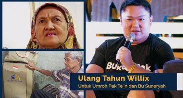 Ultah Willix untuk Umrah Pak Te'in & Bu Sunaryah