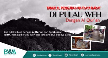Bantu Tengku Tangkal Budaya Barat di Aceh