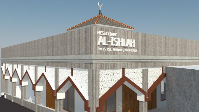 Renovasi Mesjid Jami' Al-Ishlah Bogor