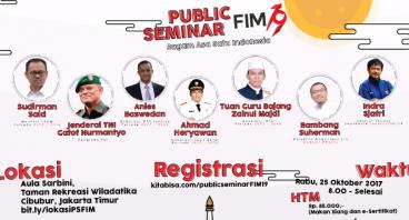 Pendaftaran Public Seminar FIM 19