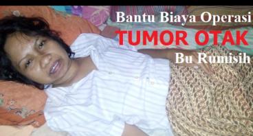 Bantu Biaya Operasi Tumor Otak Bu Rumisih