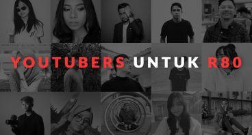 Youtubers Indonesia Dukung Pesawat R80