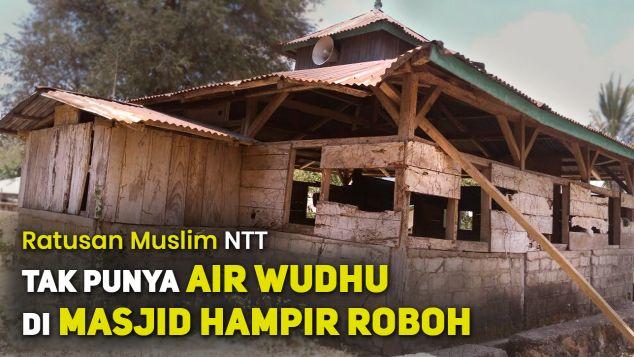 Bangun Kembali Masjid Hampir Roboh di Lobo Usu