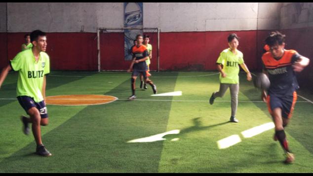 Futsal membawa perubahan di tengah krisis remaja