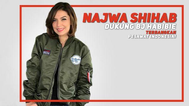 Najwa Shihab Dukung Pesawat R80
