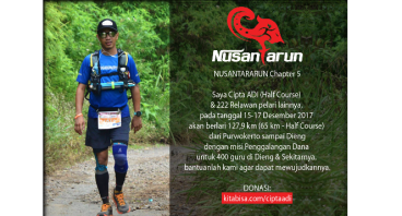 CiptaAdi utk #NusantaRun Chapter 5