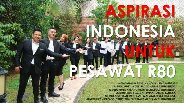 Aspirasi Indonesia Untuk Pesawat R80