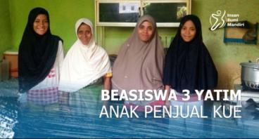 BEASISWA 3 YATIM, ANAK PENJUAL KUE