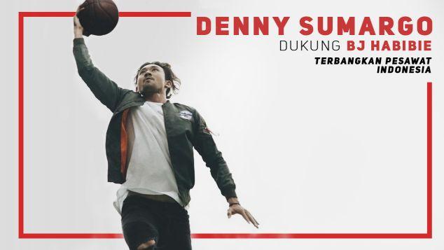 Denny Sumargo Dukung Pesawat R80