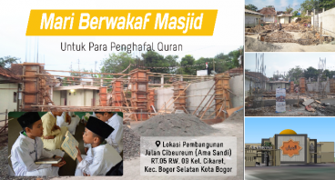 Wakaf Masjid Penghafal Qur'an