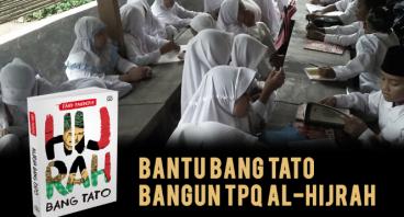 Bangun TPQ Al-Hijrah dengan PO Hijrah Bang Tato