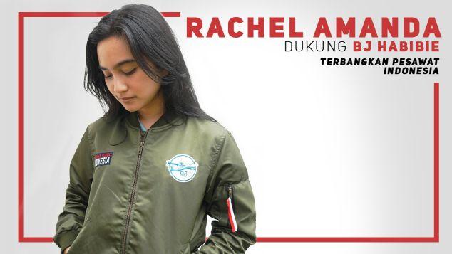 Aurora Amanda Dukung Pesawat R80