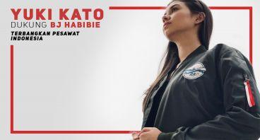 Yuki Kato Dukung Pesawat R80
