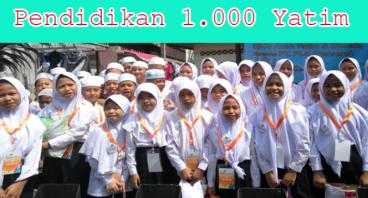 Pendidikan 1000 Yatim Dhuafa