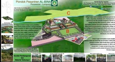 Bantu pembangunan pondok pesantren ALBINA