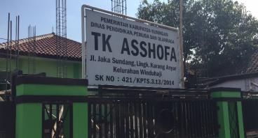 Bantu Bangun Fasilitas Sekolah Gratis TK Asshofa