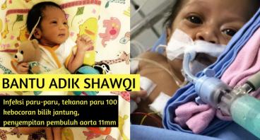 Bantu Baby Shawqi Sembuh dari VSD CoA