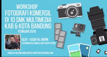 Workshop Fotografi untuk SMK Multimedia di Bandung