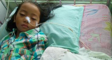 Donasi Untuk Salma Gadis Cilik Pengidap Meningitis