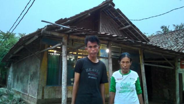 Rumah Layak Untuk Keluarga Madi & Raminah