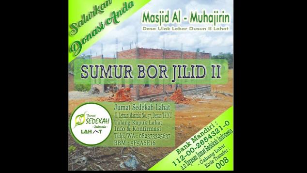Wakaf Sumur Bor