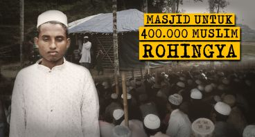 Membangun Masjid yang Layak untuk Rohingya