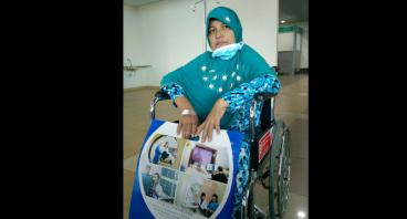 Bantu Bu Yasniar Lawan Kanker Payudara Stadium 4